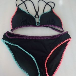 Arizona Two-Piece Bathing Suit Separates for Size
